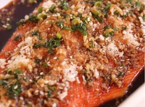 Recipe of the Month – Asian Salmon
