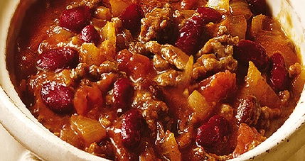 Recipe of the Month – March 2018 – Sausage Chilli
